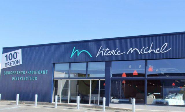 Magasin Literie Michel à Brest - Devanture