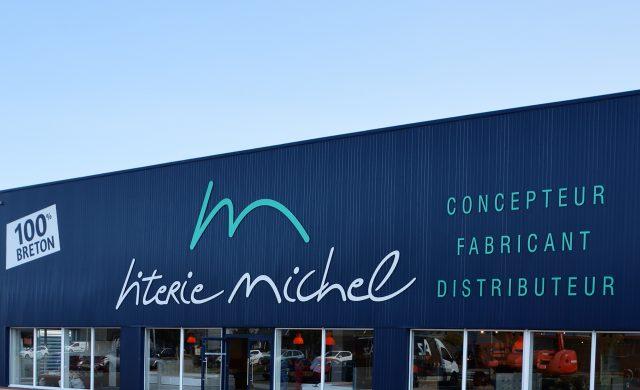 Magasin Literie Michel à Rennes - Devanture