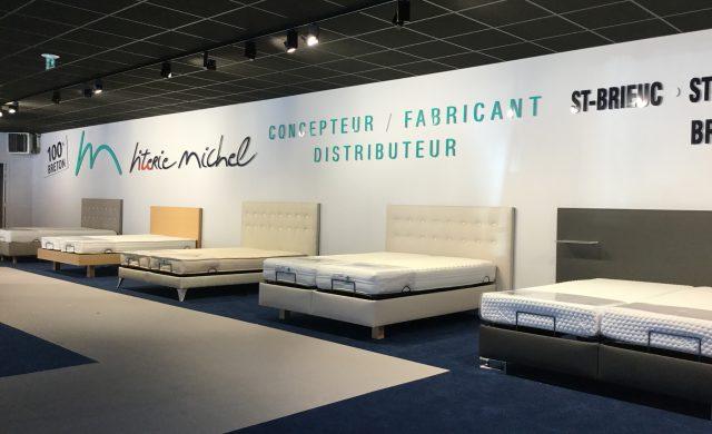 Magasin Literie Michel à Rennes - Exposition