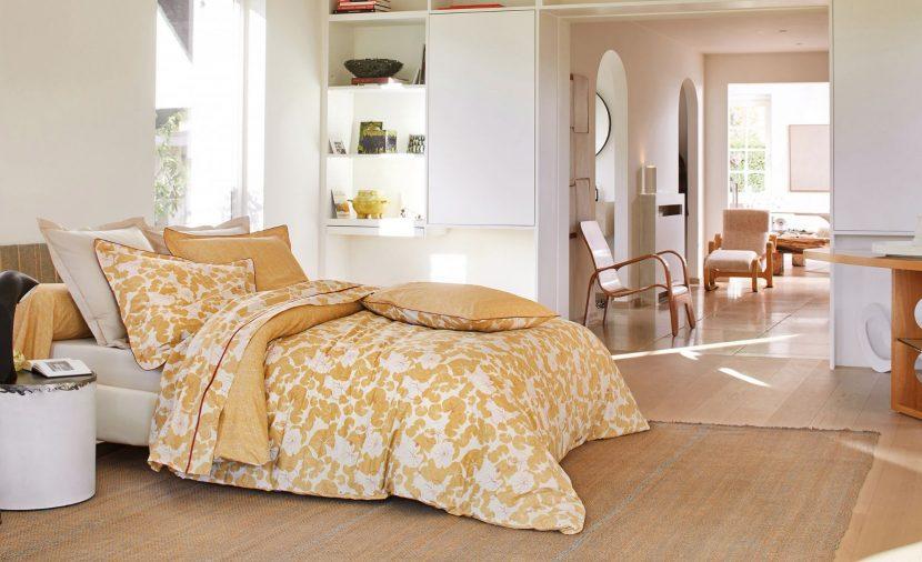 Photo linge de lit design ambiance chic